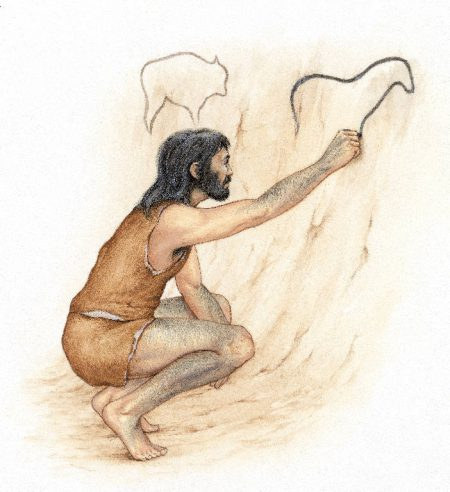Homo sapiens-sapiens: Ekaingo biztanlea eta artista