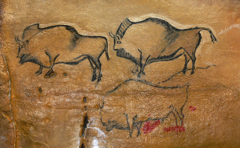 Covciella: el conjunto de bisontes mejor conservado del cantábrico