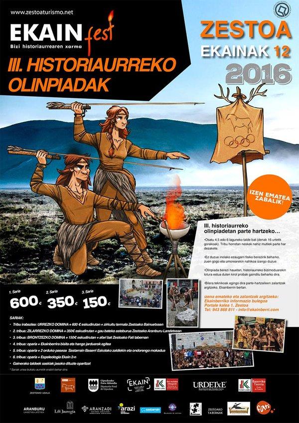 El 12 de junio Ekainfest 2016 en Zestoa