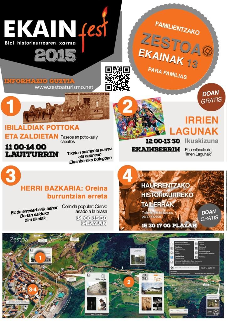 ¡Ya viene Ekainfest 2015! ¡El 13 de junio tod@s a Zestoa!