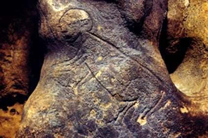 Roc de Saint Cirq: arte rupestre en el núcleo urbano