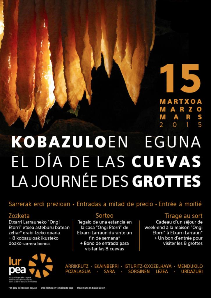 Día de las Cuevas en Ekainberri