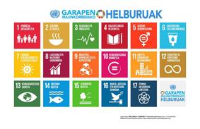 Euskal Herriko UNESCO sarea (EHUS) presenta los ODS y la Agenda 2030