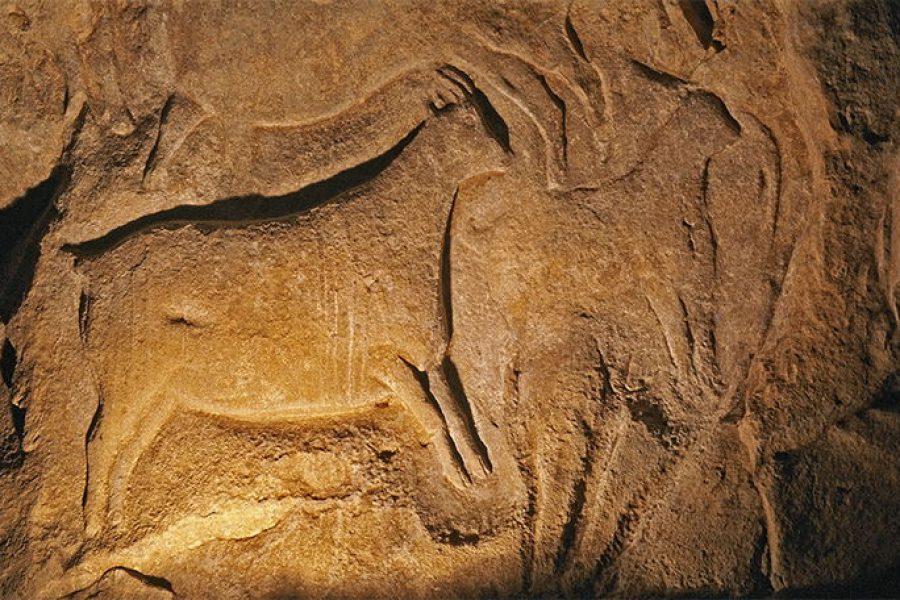 Roc-aux-Sorciers: Paleolitoko eskulturaren tenplua