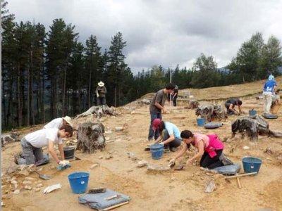 Abiertas las inscripciones para las excavaciones de verano de Aranzadi