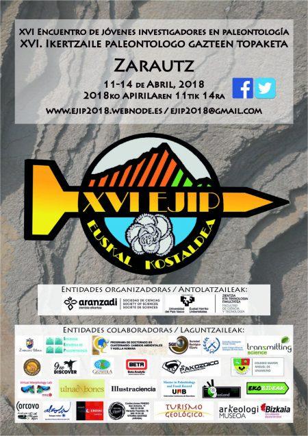 XVI Encuentro de Jóvenes Investigadores en Paleontología