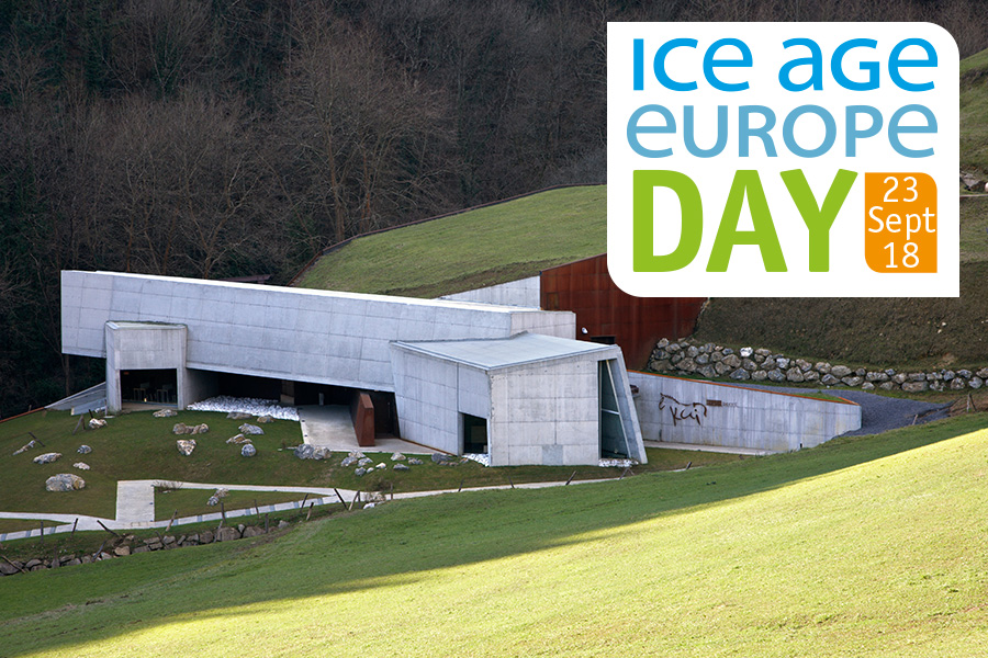 Come celebrate with us Ice Age Europe Day in Ekainberri the 23rd September!