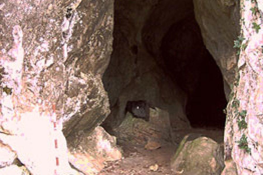 Cueva El Porquerizo: puntos del Solutrense