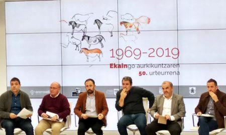 La cueva de Ekain celebra el 50 aniversario de su descubrimiento
