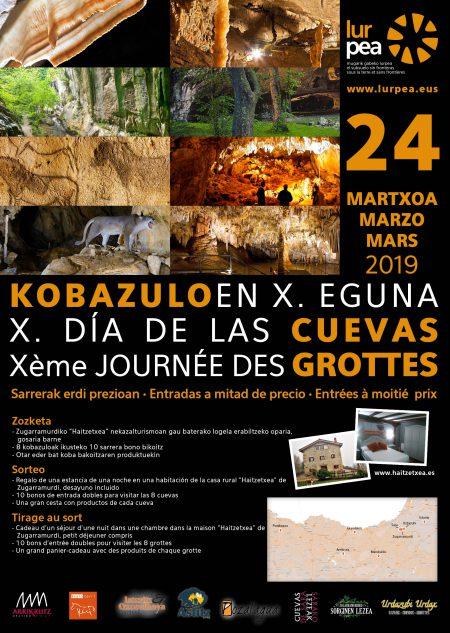 Llega la X edición del Día de las Cuevas