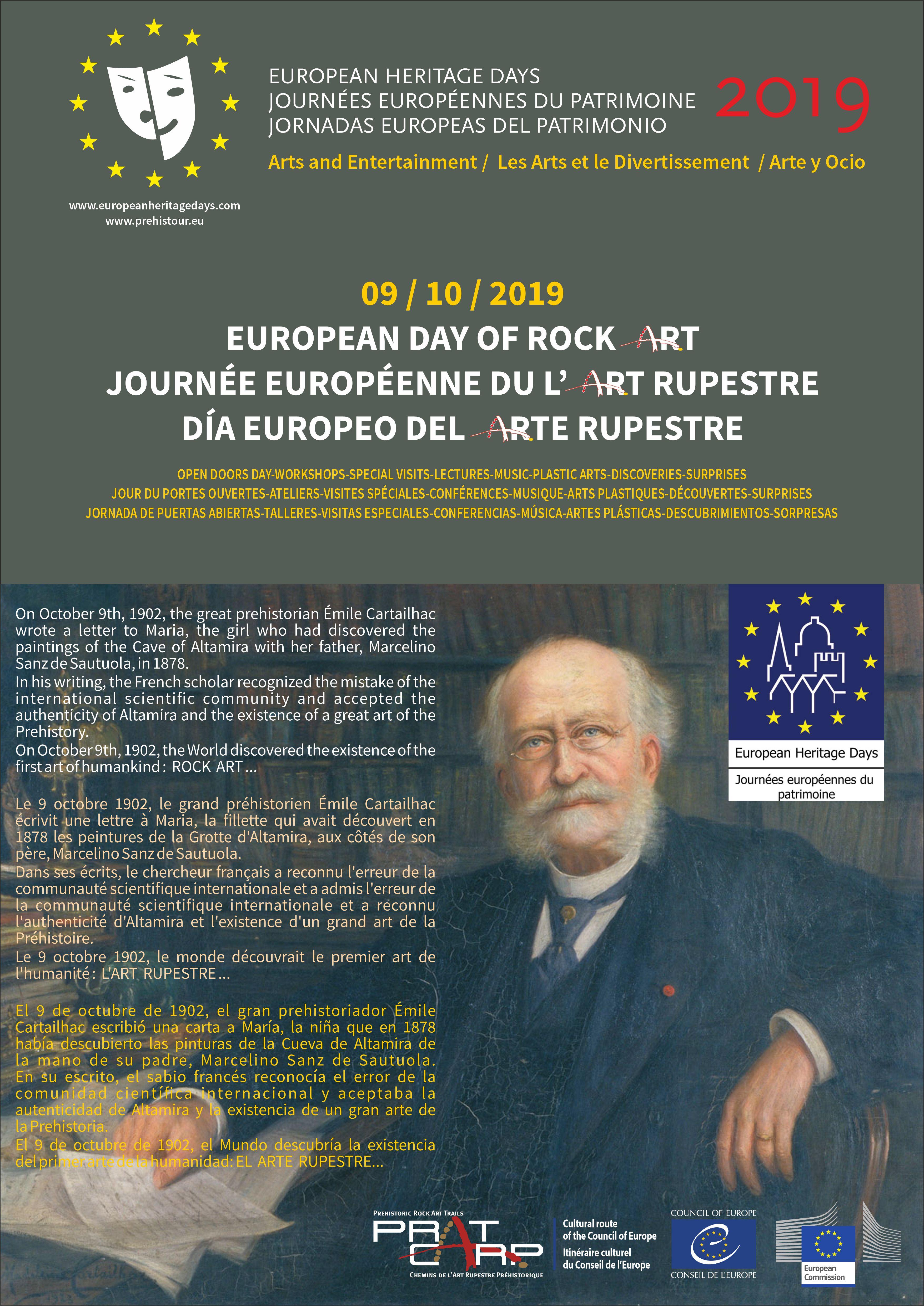 El 9 de octubre es el Día Europeo del Arte Rupestre