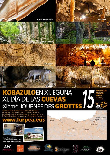 El grupo Lurpea celebrará el XI Día de las Cuevas