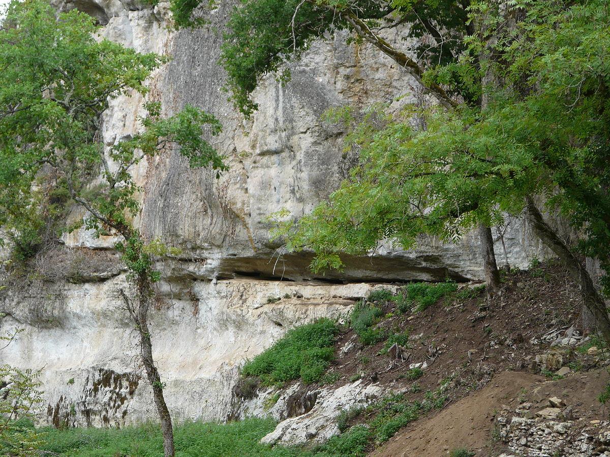 Abri Blanchard: arte rupestre auriñaciense