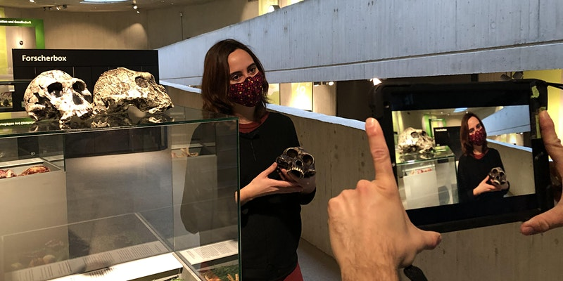 Neanderthal Museum-en giza eboluzioari buruzko bisita birtuala otsailak 12an